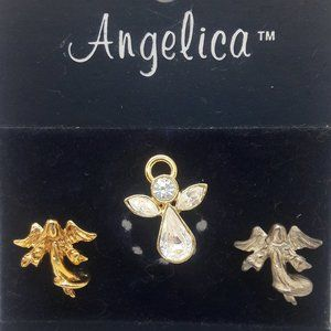 Angelica Set of 3 Guardian Angel Pins